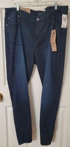 Dark Blue Plus size Jeans